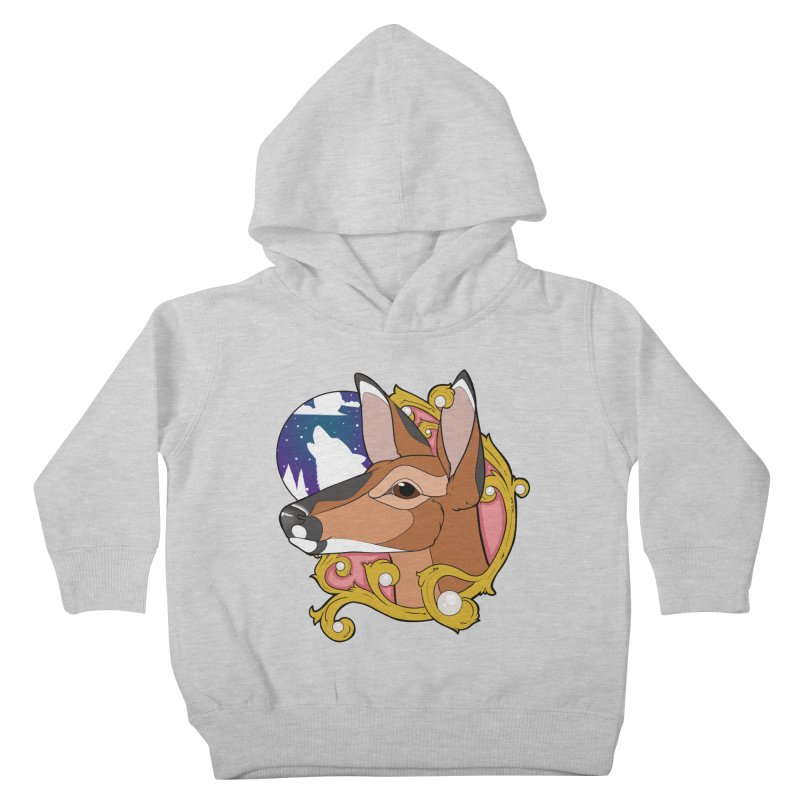 Abigail- The Innocent Doe (Full Color) Kids Toddler Pullover Hoody by Kristen Banet's Universe