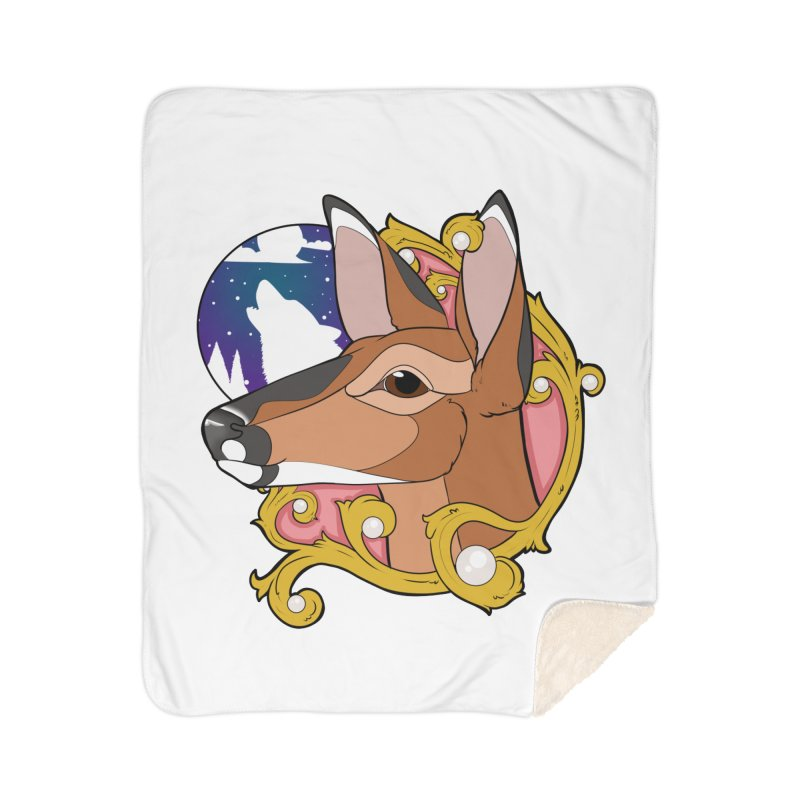 Abigail- The Innocent Doe (Full Color) Home Blanket by Kristen Banet's Universe