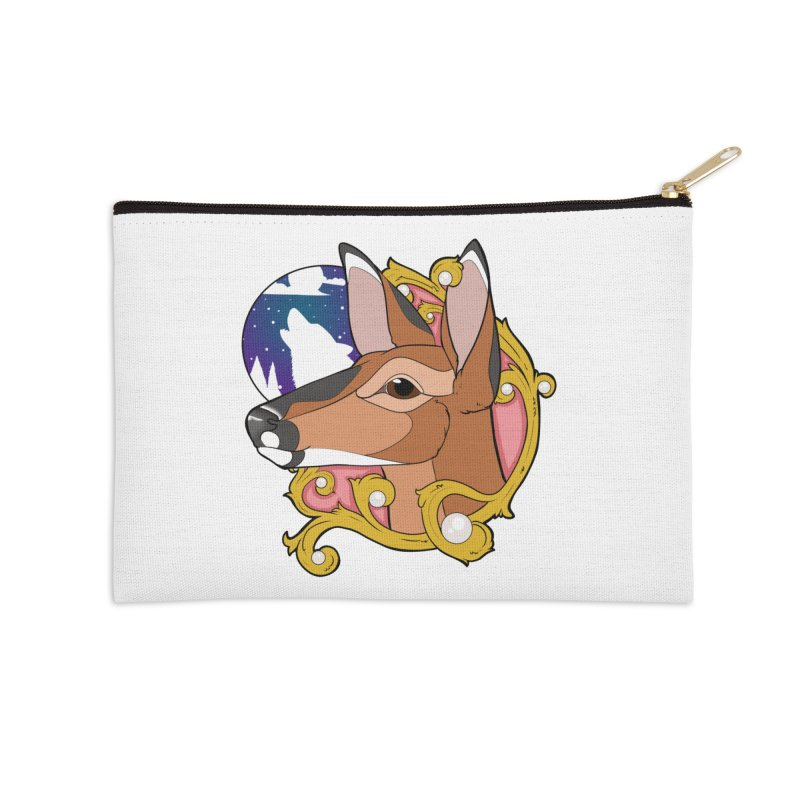 Abigail- The Innocent Doe (Full Color) Accessories Zip Pouch by Kristen Banet's Universe