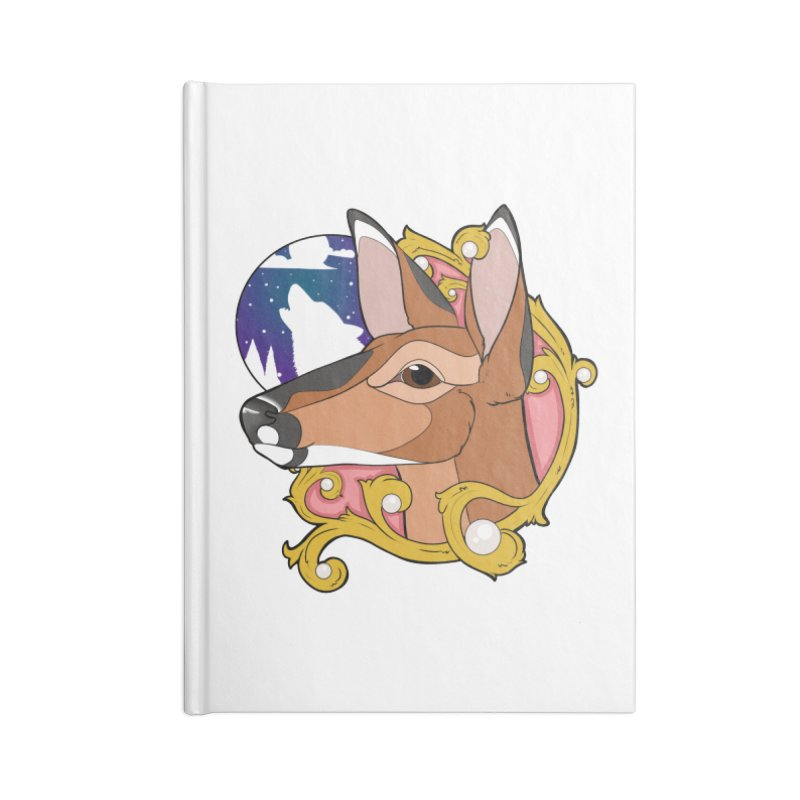 Abigail- The Innocent Doe (Full Color) Accessories Notebook by Kristen Banet's Universe