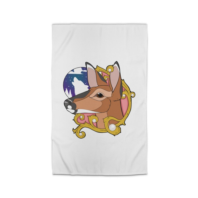 Abigail- The Innocent Doe (Full Color) Home Rug by Kristen Banet's Universe