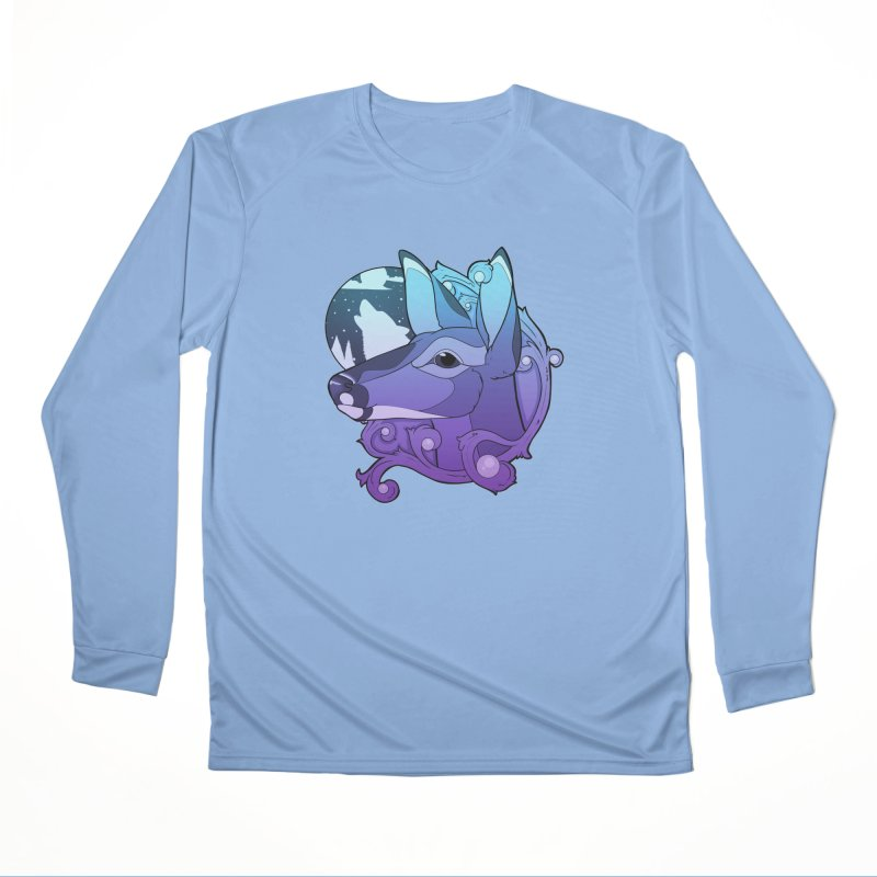 Abigail- The Innocent Doe (Gradient) Men's Longsleeve T-Shirt by Kristen Banet's Universe