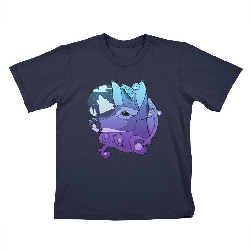 Abigail- The Innocent Doe (Gradient) Kids T-Shirt by Kristen Banet's Universe