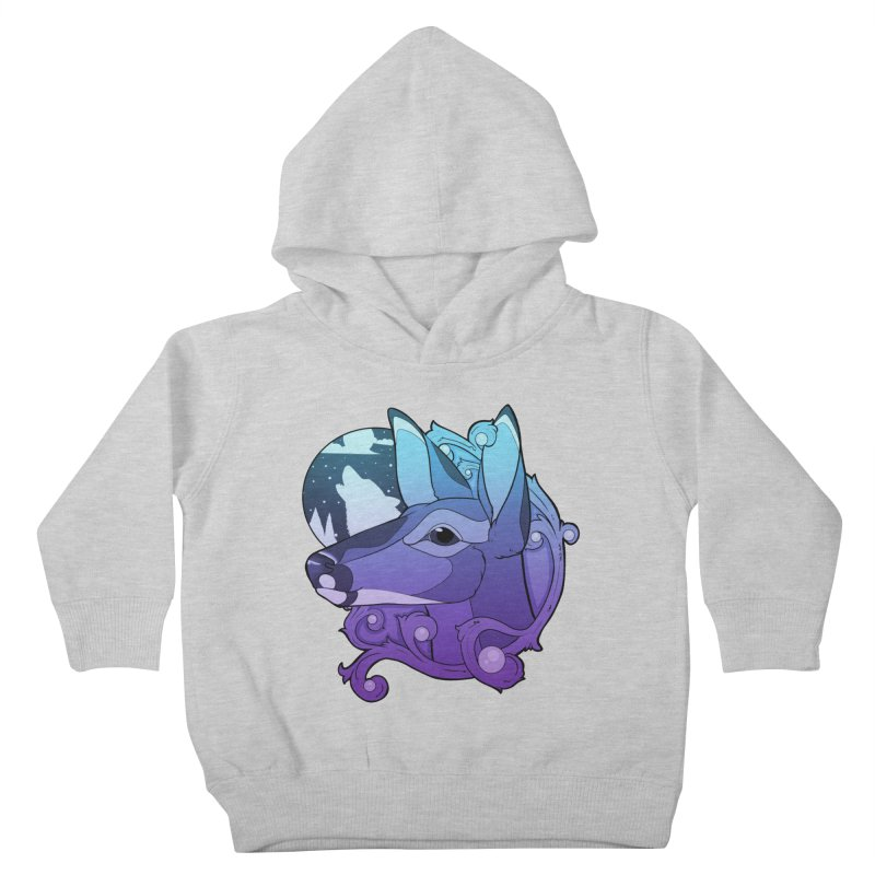 Abigail- The Innocent Doe (Gradient) Kids Toddler Pullover Hoody by Kristen Banet's Universe