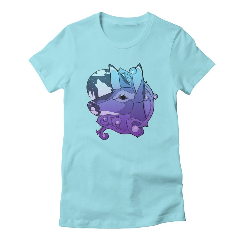 Abigail- The Innocent Doe (Gradient) Women's T-Shirt by Kristen Banet's Universe