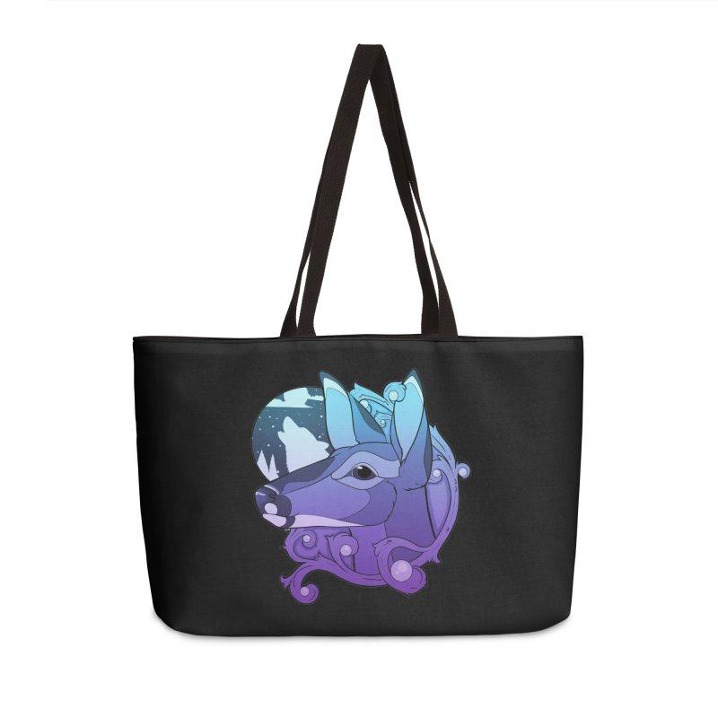 Abigail- The Innocent Doe (Gradient) Accessories Bag by Kristen Banet's Universe