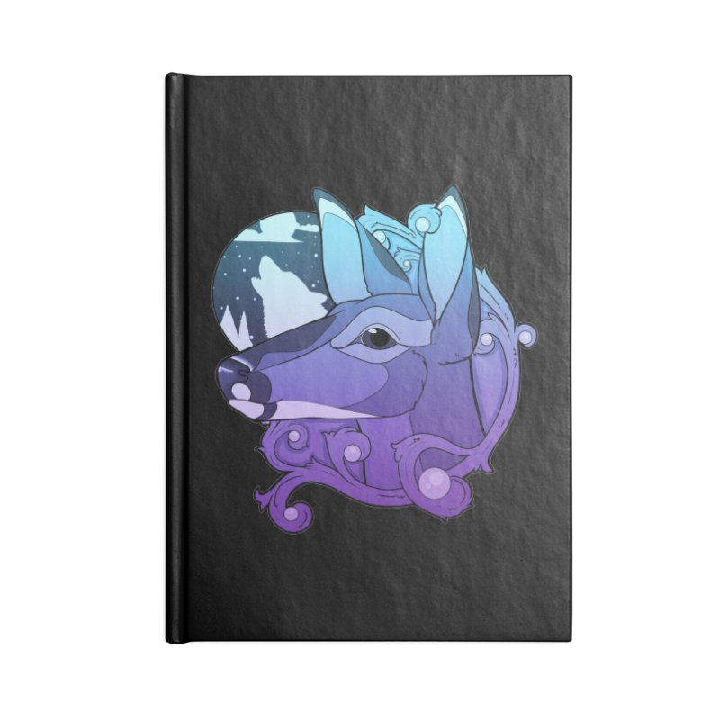 Abigail- The Innocent Doe (Gradient) Accessories Notebook by Kristen Banet's Universe