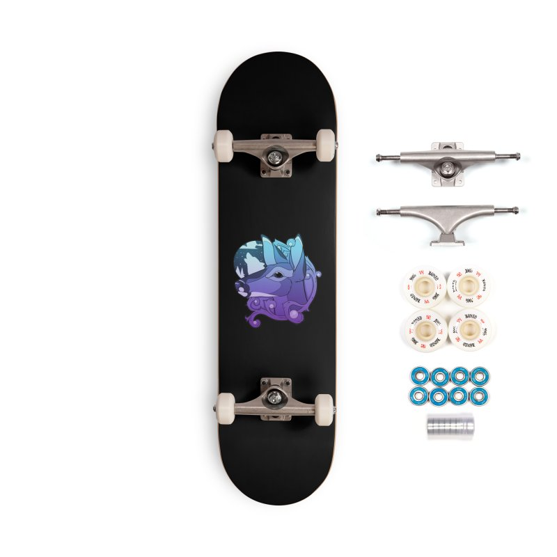 Abigail- The Innocent Doe (Gradient) Accessories Skateboard by Kristen Banet's Universe