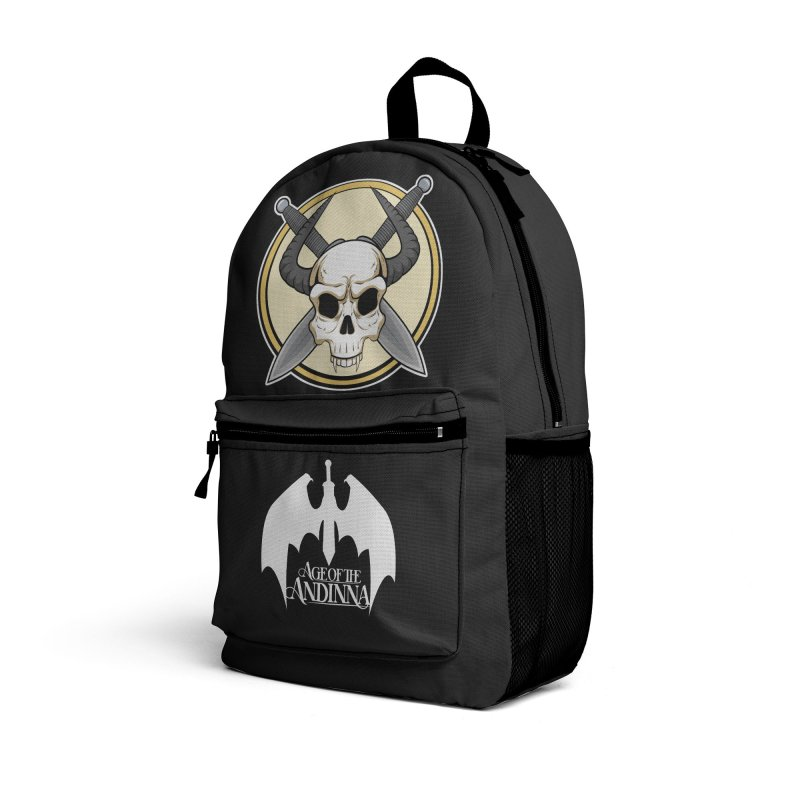 Age of the Andinna Logo Set Accessories Bag by Kristen Banet's Universe