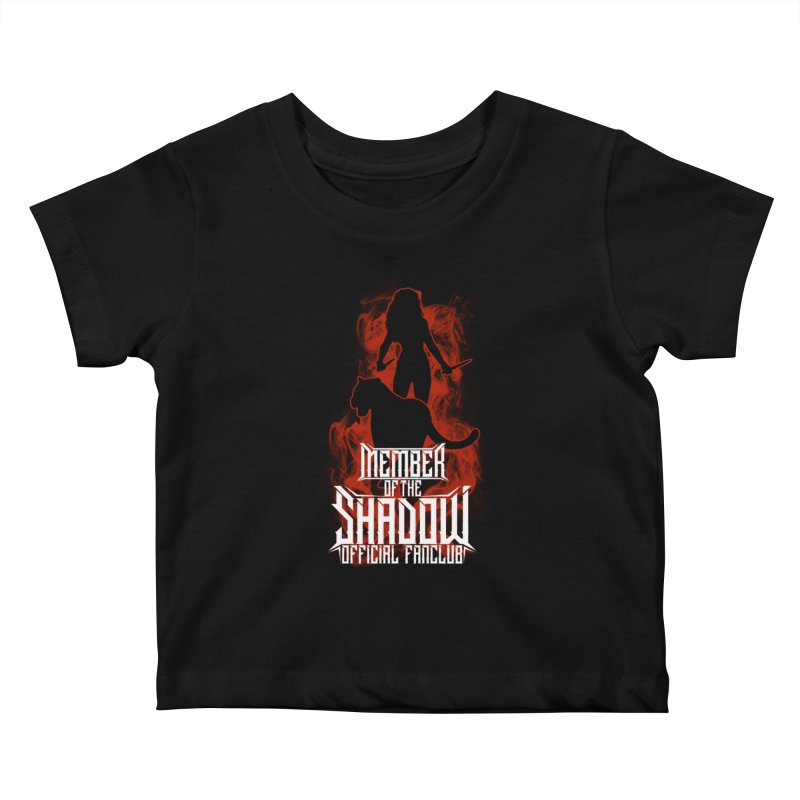 Sawyer and Sombra Fan Club Kids Baby T-Shirt by Kristen Banet's Universe