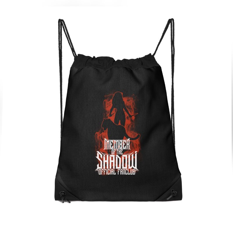 Sawyer and Sombra Fan Club Accessories Bag by Kristen Banet's Universe