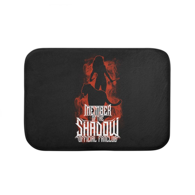 Sawyer and Sombra Fan Club Home Bath Mat by Kristen Banet's Universe