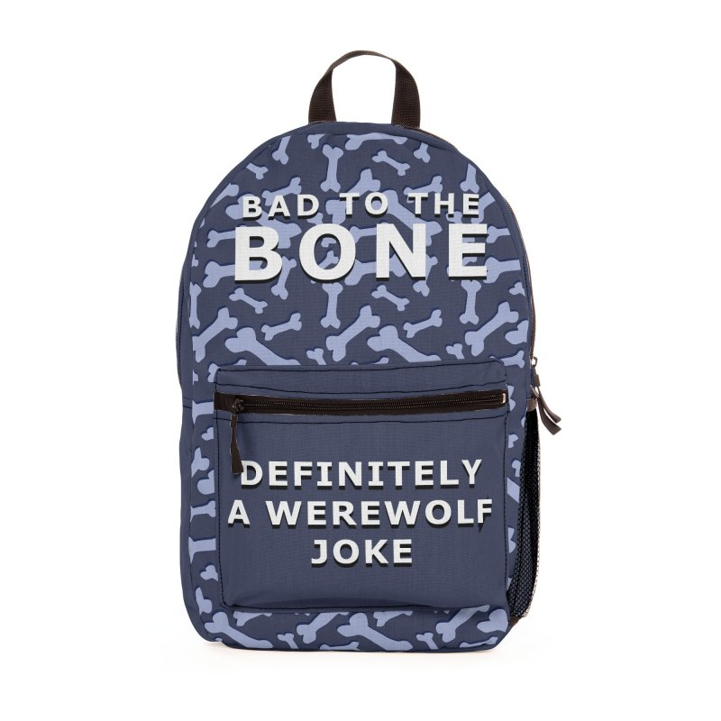 A Werewolf Joke Accessories Bag by Kristen Banet's Universe