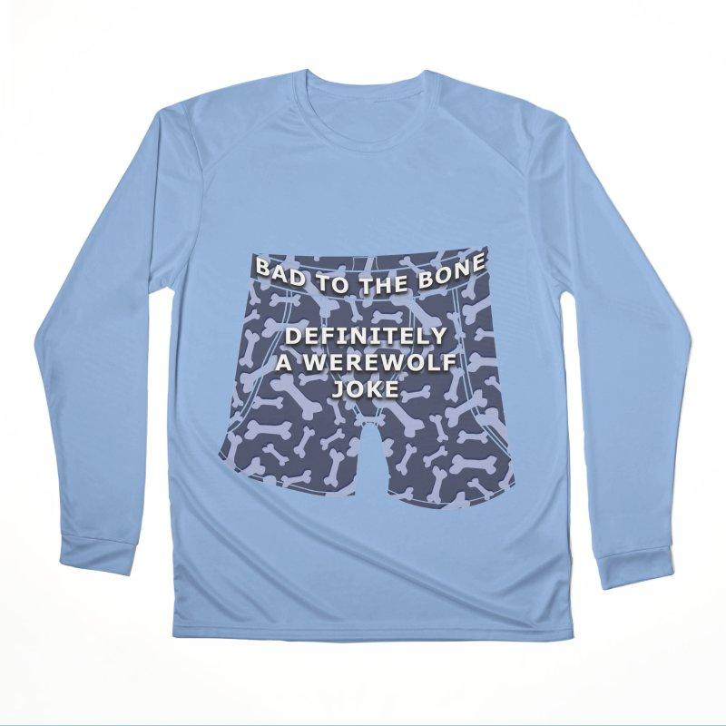 A Werewolf Joke Women's Longsleeve T-Shirt by Kristen Banet's Universe