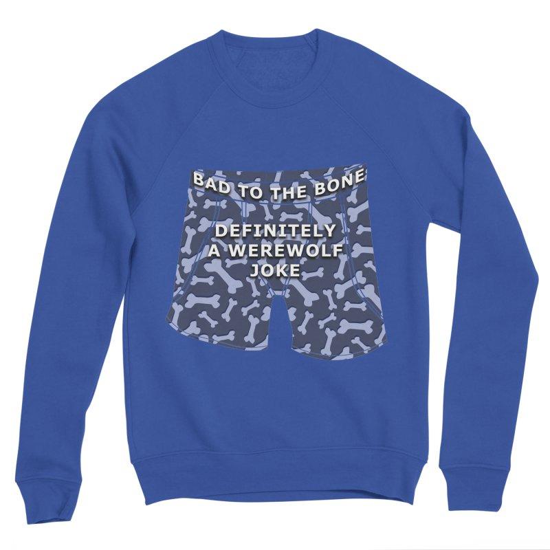 A Werewolf Joke Men's Sweatshirt by Kristen Banet's Universe