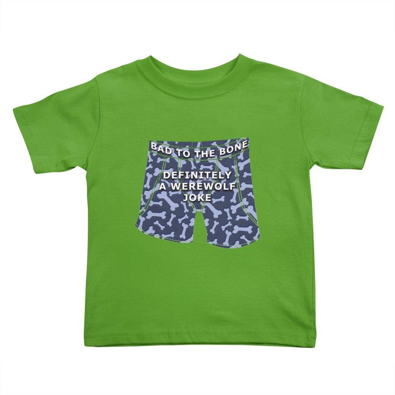 A Werewolf Joke Kids Toddler T-Shirt by Kristen Banet's Universe