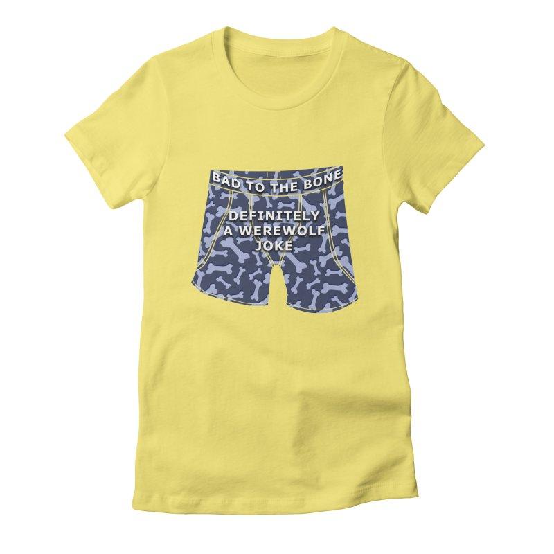 A Werewolf Joke Women's T-Shirt by Kristen Banet's Universe