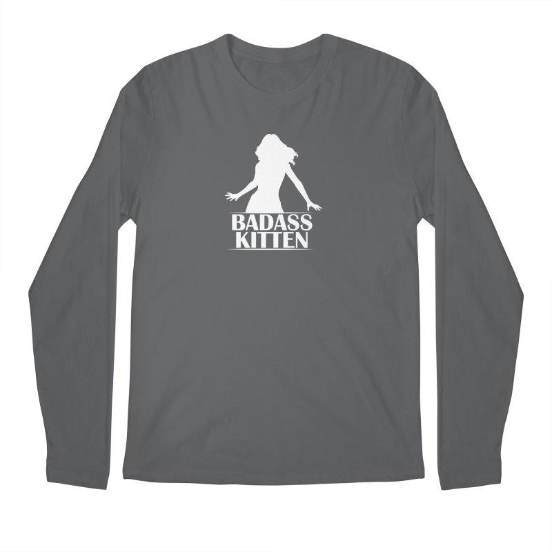 Badass Kitten- Jacky Leon Men's Longsleeve T-Shirt by Kristen Banet's Universe
