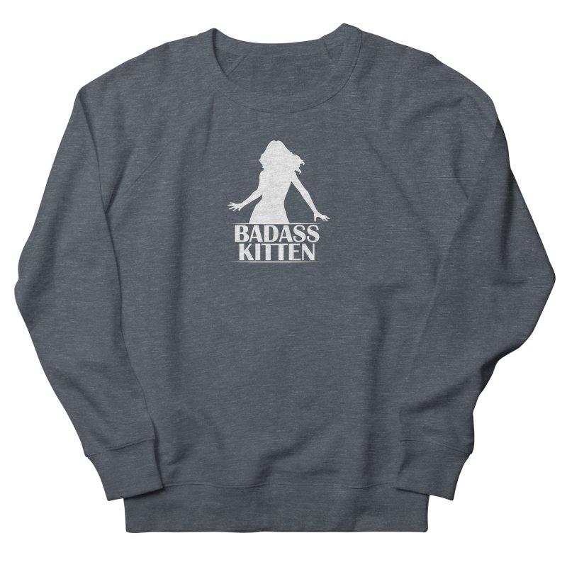Badass Kitten- Jacky Leon Women's Sweatshirt by Kristen Banet's Universe