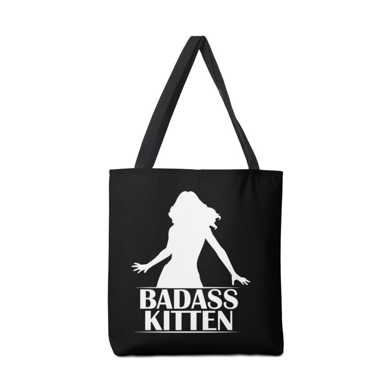 Badass Kitten- Jacky Leon Accessories Bag by Kristen Banet's Universe