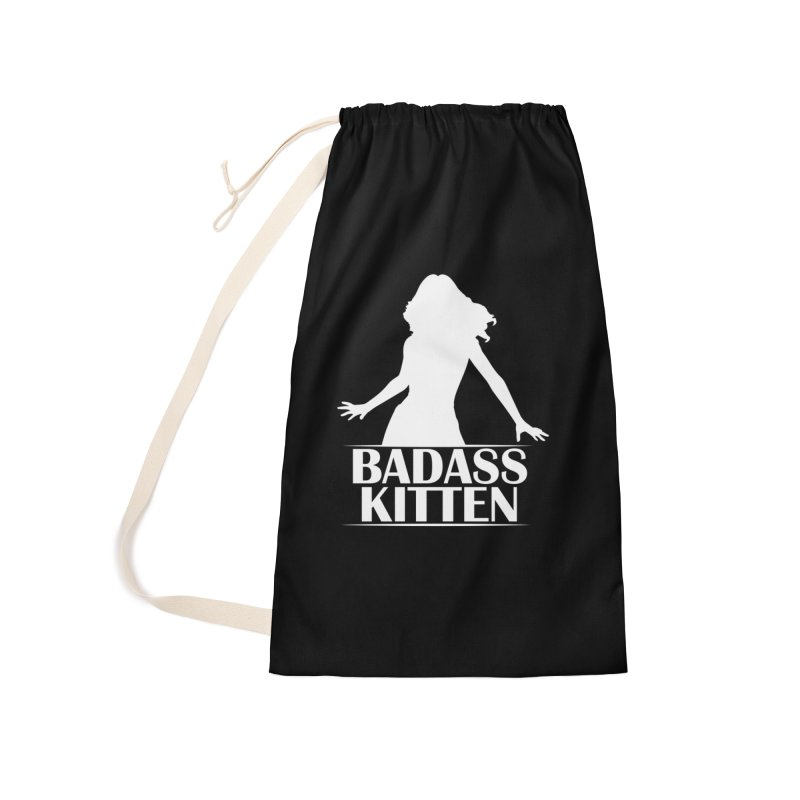 Badass Kitten- Jacky Leon Accessories Bag by Kristen Banet's Universe