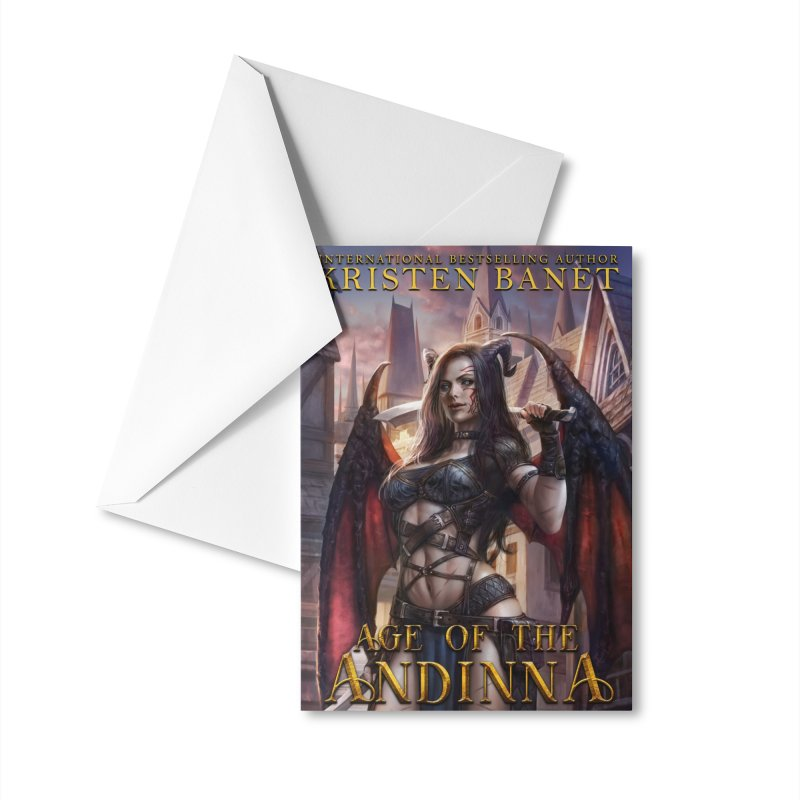 Age of the Andinna Vol 1 Cover Art Accessories Greeting Card by Kristen Banet's Universe