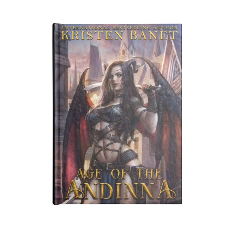 Age of the Andinna Vol 1 Cover Art Accessories Notebook by Kristen Banet's Universe
