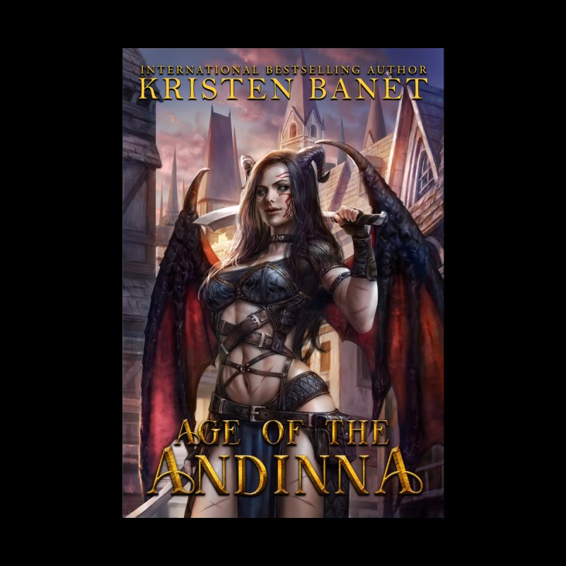 Age of the Andinna Vol 1 Cover Art Home Fine Art Print by Kristen Banet's Universe