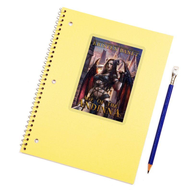 Age of the Andinna Vol 1 Cover Art Accessories Sticker by Kristen Banet's Universe