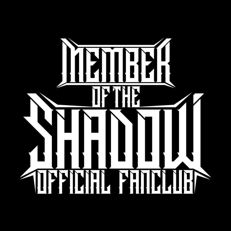 Shadow Official Fanclub White Men's T-Shirt by Kristen Banet's Universe
