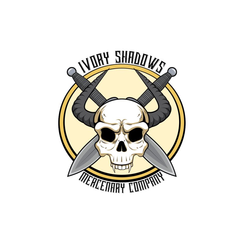 Ivory Shadow Merc Company Accessories Sticker by Kristen Banet's Universe
