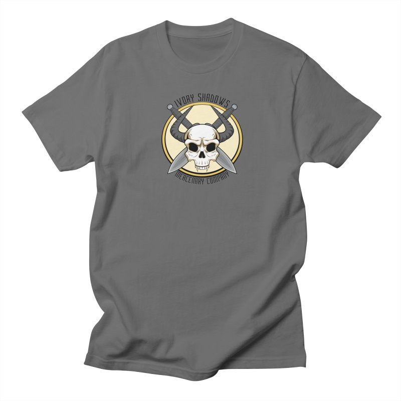 Ivory Shadow Merc Company Men's T-Shirt by Kristen Banet's Universe