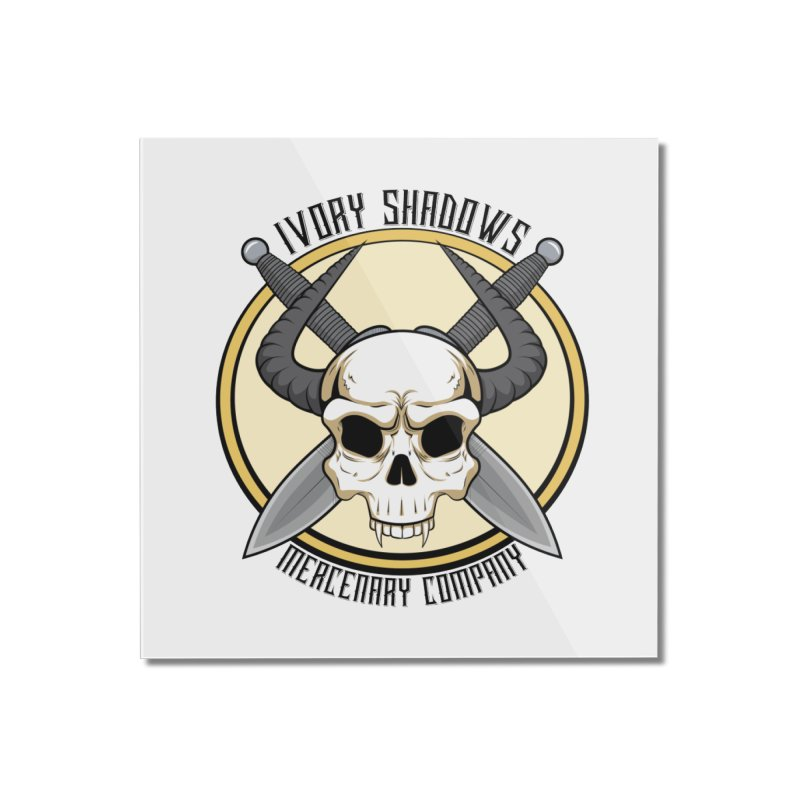 Ivory Shadow Merc Company Home Mounted Acrylic Print by Kristen Banet's Universe