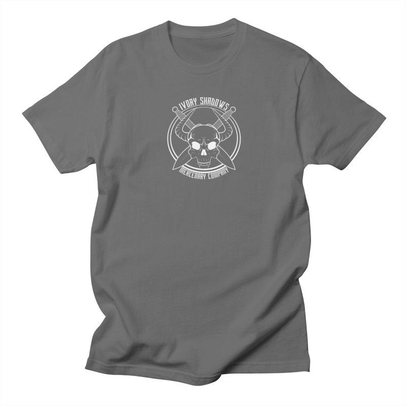 ISMC White Men's T-Shirt by Kristen Banet's Universe