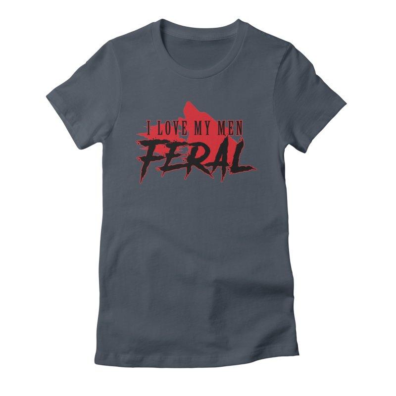 Feral Men- Wolf Women's T-Shirt by Kristen Banet's Universe
