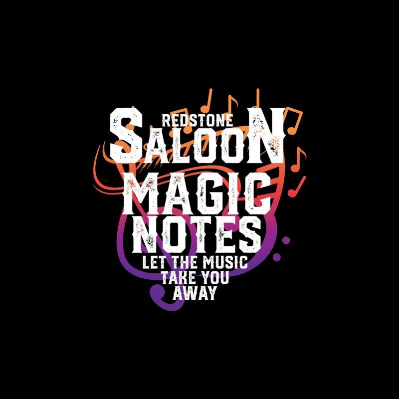 Magic Notes Saloon- Vr1 Men's T-Shirt by Kristen Banet's Universe