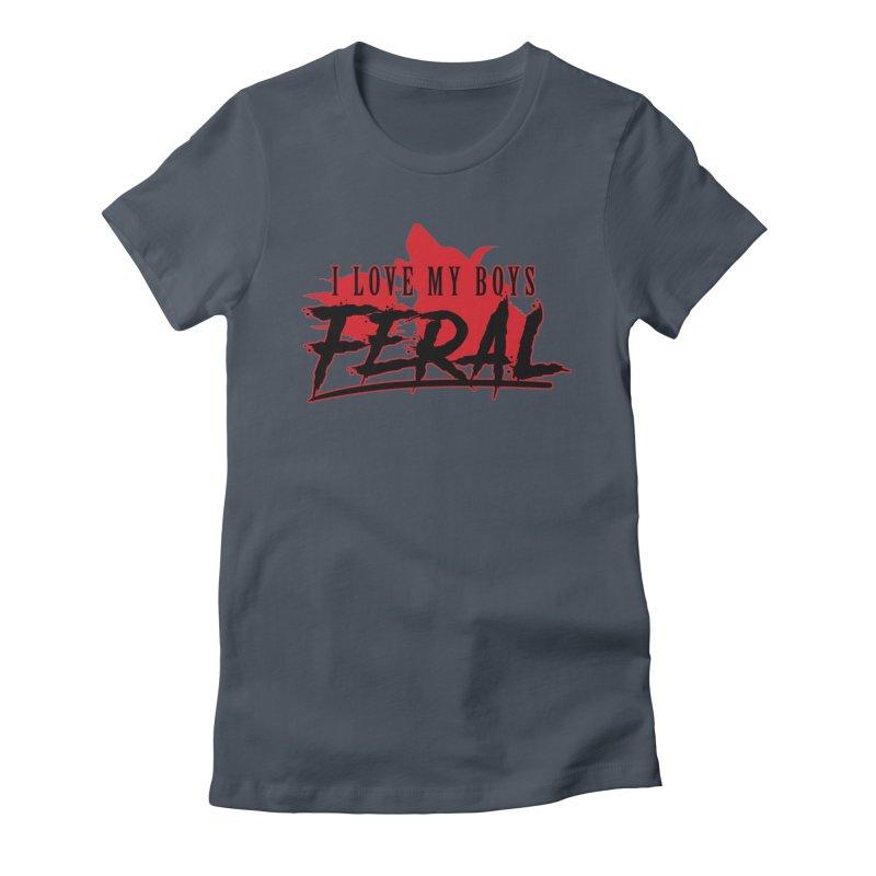 Feral Boys- Hellhound Women's T-Shirt by Kristen Banet's Universe