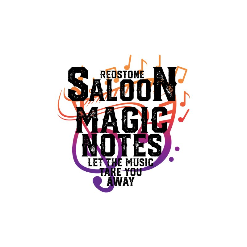 Magic Notes Saloon- Vr 2 Accessories Zip Pouch by Kristen Banet's Universe