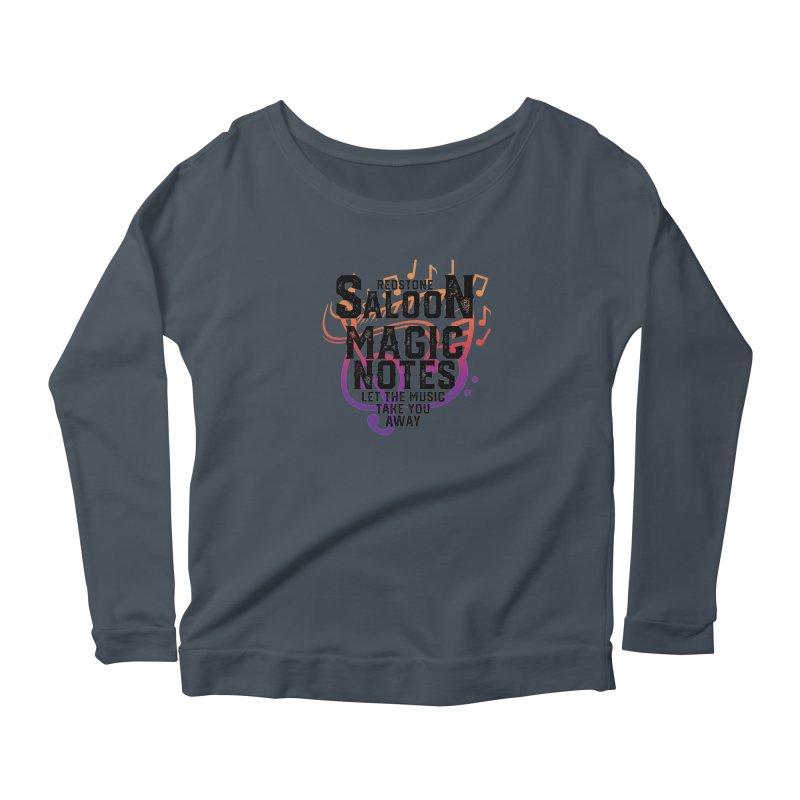 Magic Notes Saloon- Vr 2 Women's Longsleeve T-Shirt by Kristen Banet's Universe