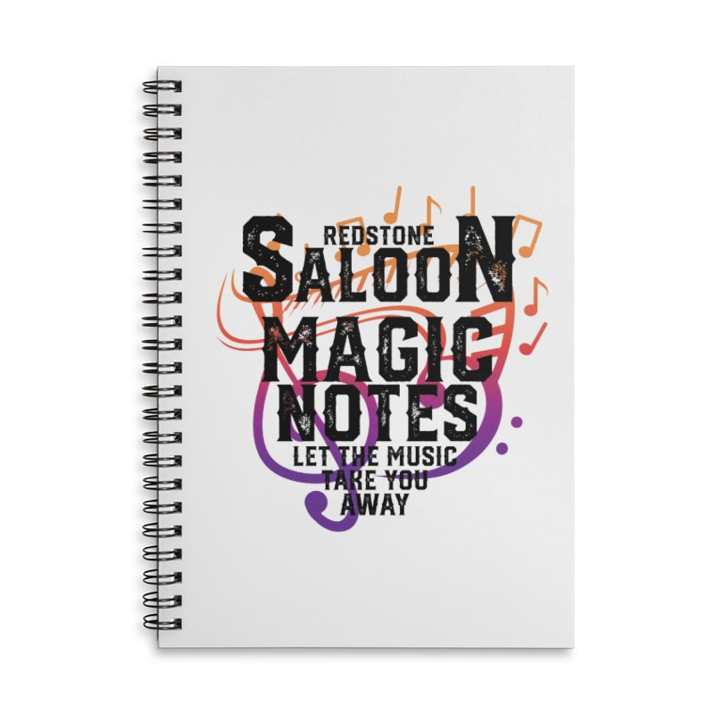 Magic Notes Saloon- Vr 2 Accessories Notebook by Kristen Banet's Universe