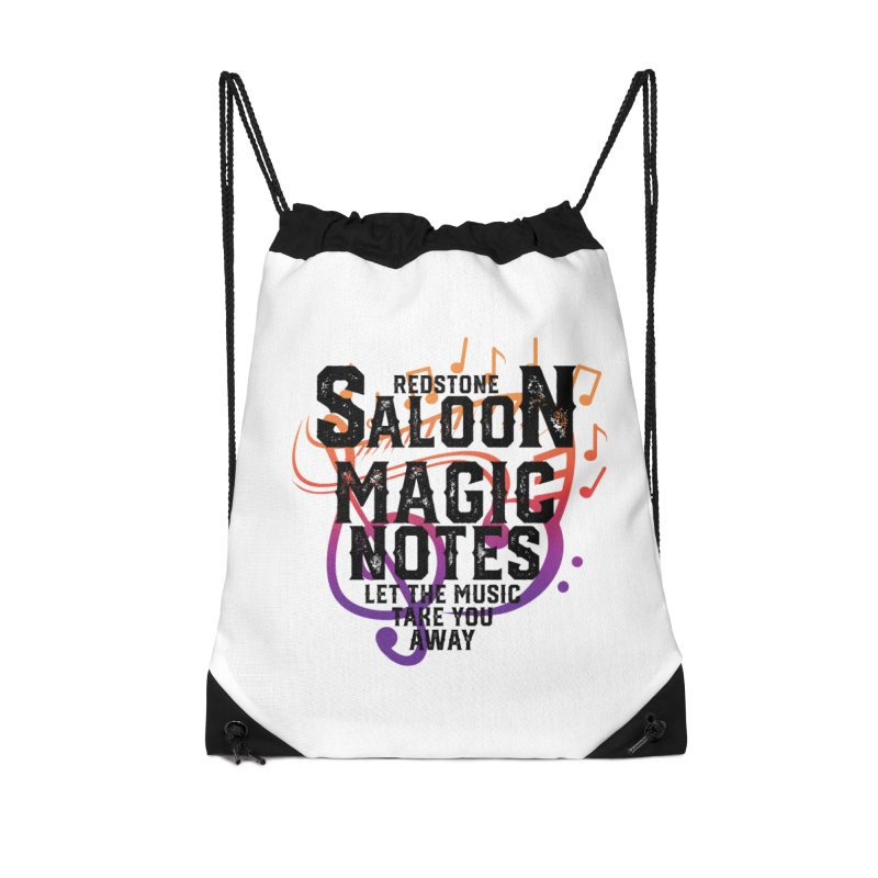 Magic Notes Saloon- Vr 2 Accessories Bag by Kristen Banet's Universe