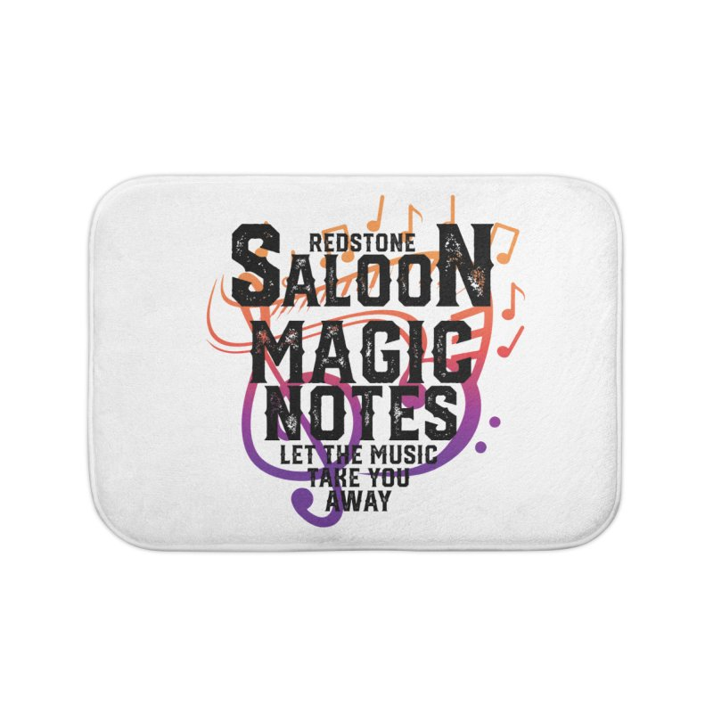 Magic Notes Saloon- Vr 2 Home Bath Mat by Kristen Banet's Universe