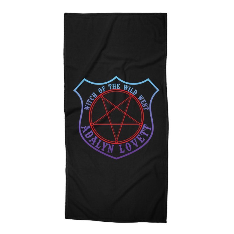 Adalyn Lovett, the Witch of the Wild West Accessories Beach Towel by Kristen Banet's Universe