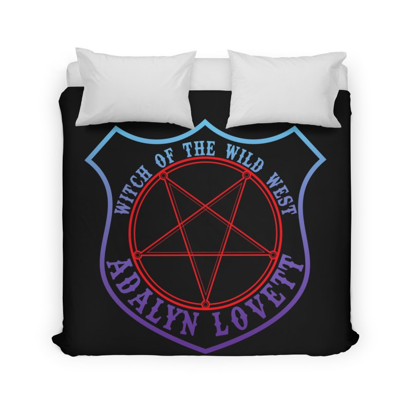 Adalyn Lovett, the Witch of the Wild West Home Duvet by Kristen Banet's Universe