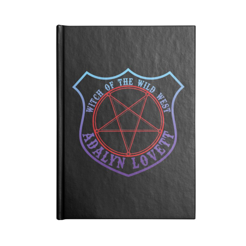 Adalyn Lovett, the Witch of the Wild West Accessories Notebook by Kristen Banet's Universe