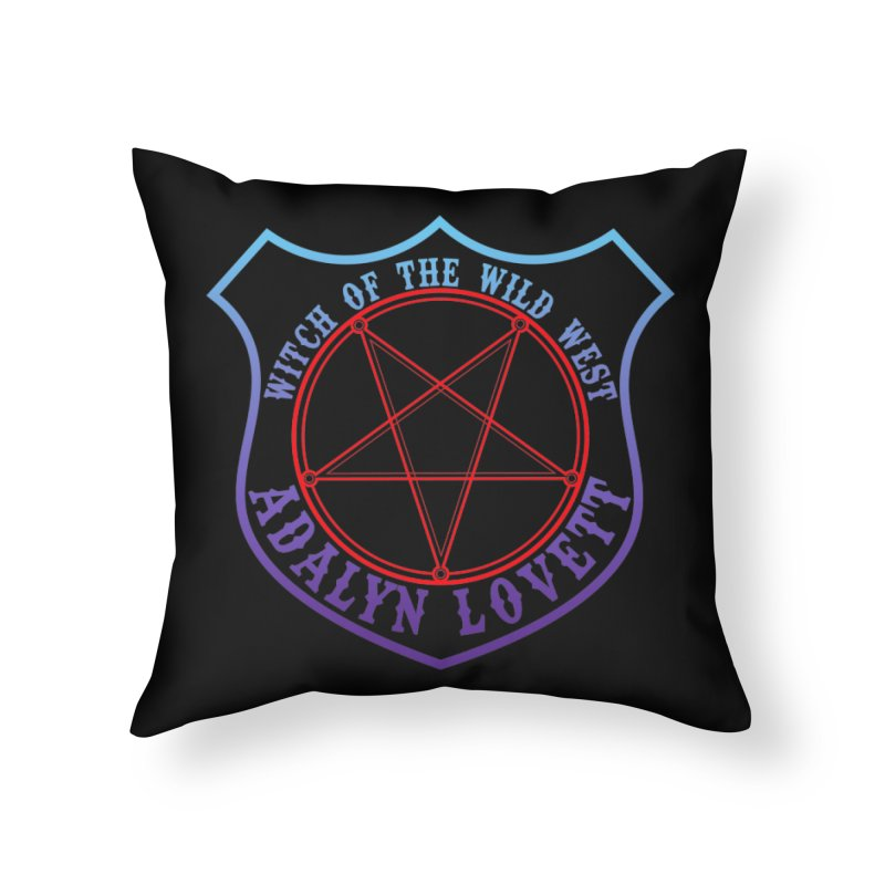 Adalyn Lovett, the Witch of the Wild West Home Throw Pillow by Kristen Banet's Universe