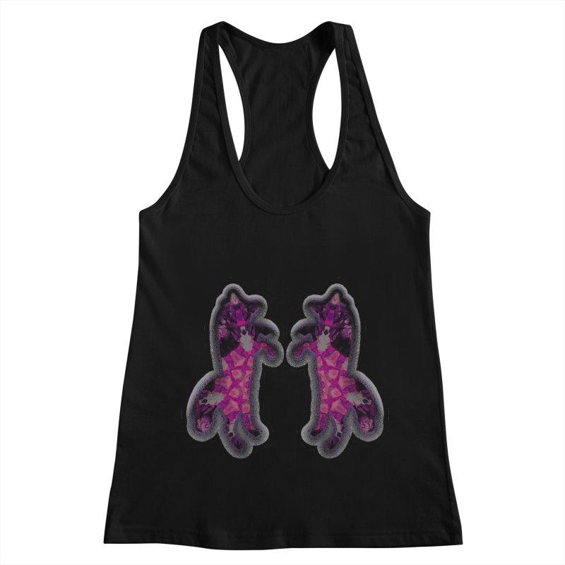 dancing fractal foxes Women's Tank by KristieRose Designs