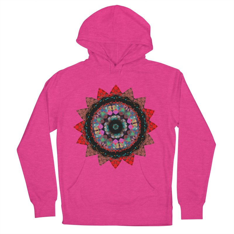 heart queen Women's French Terry Pullover Hoody by KristieRose Designs