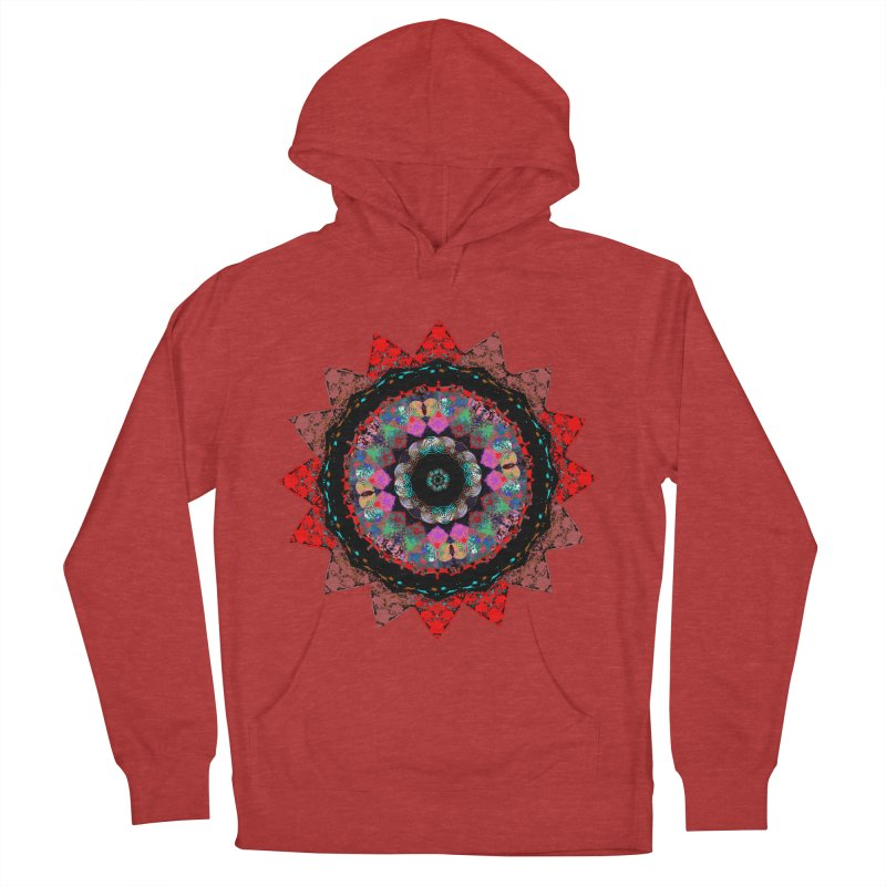 heart queen Men's French Terry Pullover Hoody by KristieRose Designs