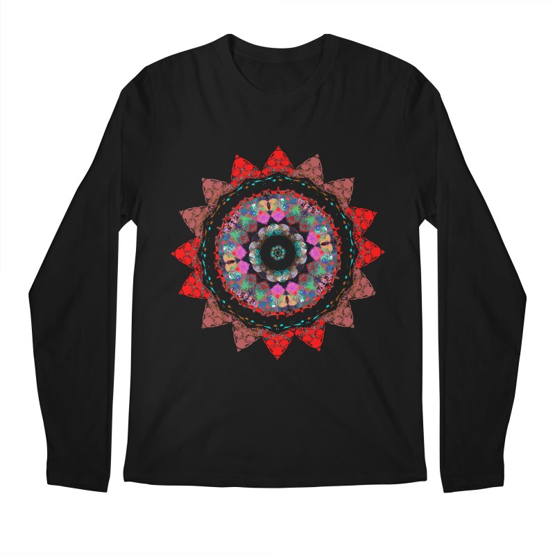 heart queen Men's Regular Longsleeve T-Shirt by KristieRose Designs